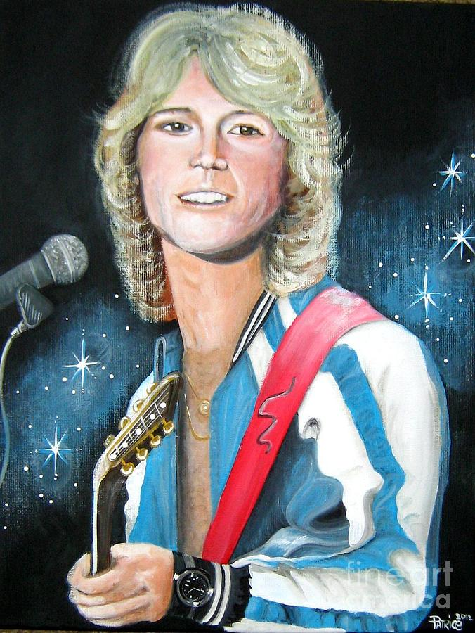 Andy Gibb Painting  - Andy Gibb Fine Art Print