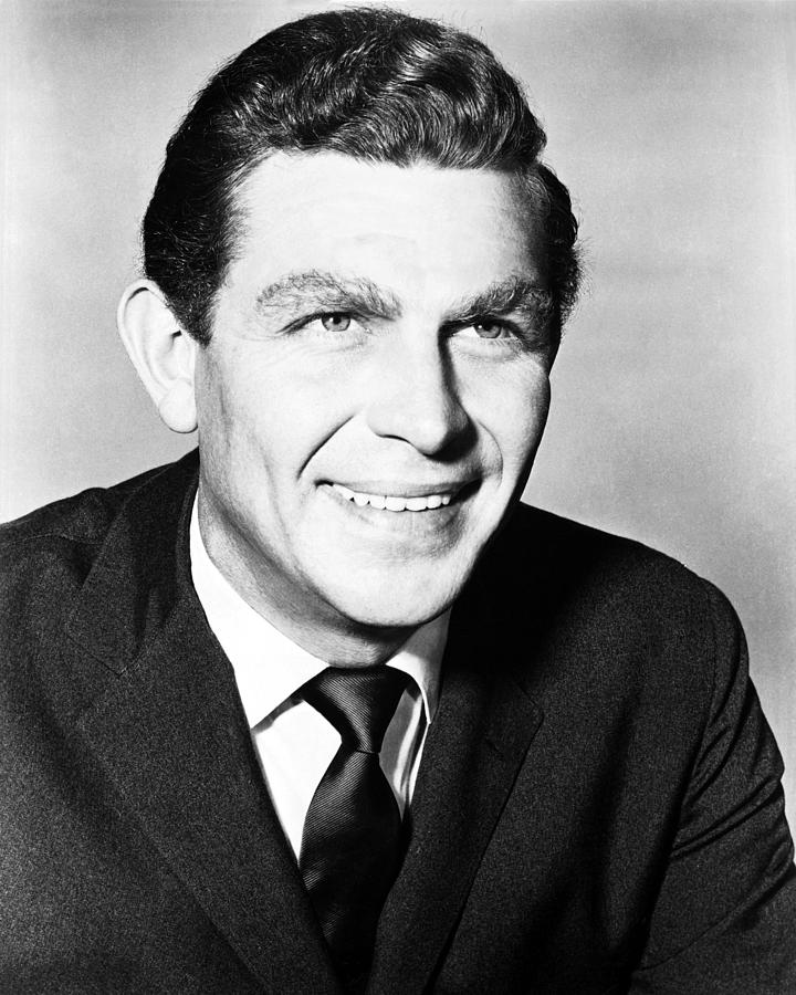 Andy Griffith In The Andy Griffith Show  Photograph  - Andy Griffith In The Andy Griffith Show  Fine Art Print