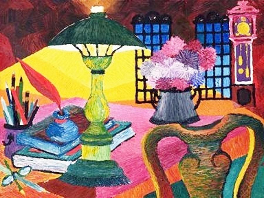 Artist Studio Painting