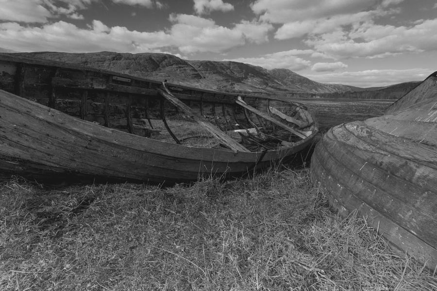 Mono Photograph - At Rest by Karl Normington