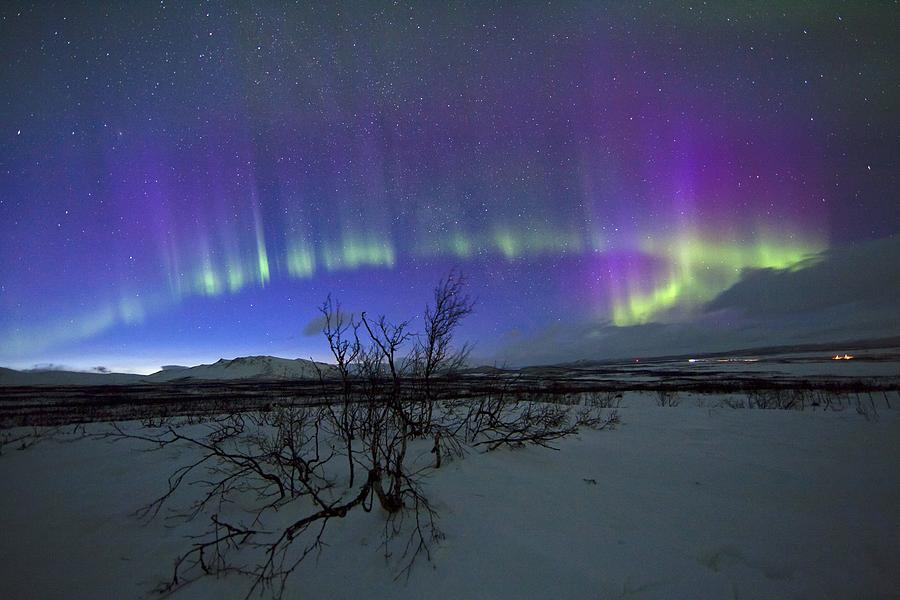 Aurora Borealis, Lapland, Sweden Photograph