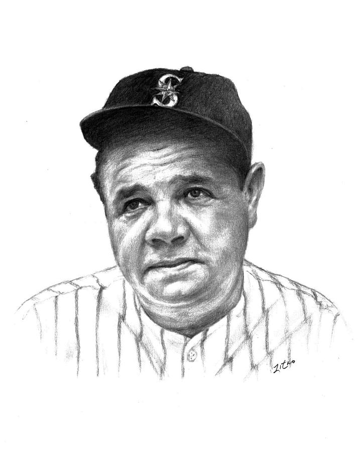 Learning colors coloring pages printable learning best for Babe ruth coloring pages