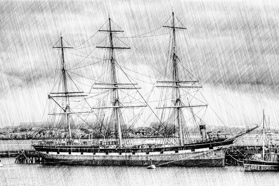 Balclutha Star Of Alaska San Francisco Photograph  - Balclutha Star Of Alaska San Francisco Fine Art Print