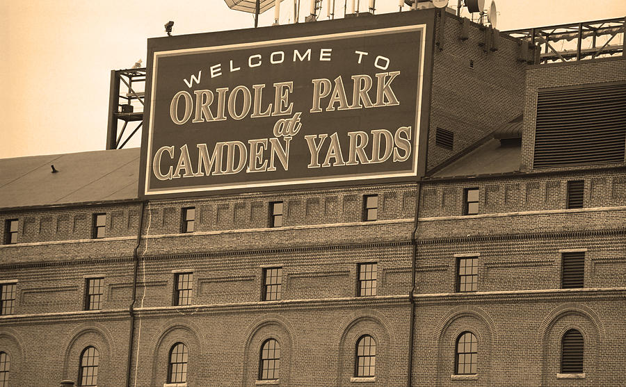 America Photograph - Baltimore Orioles Park At Camden Yards by Frank Romeo