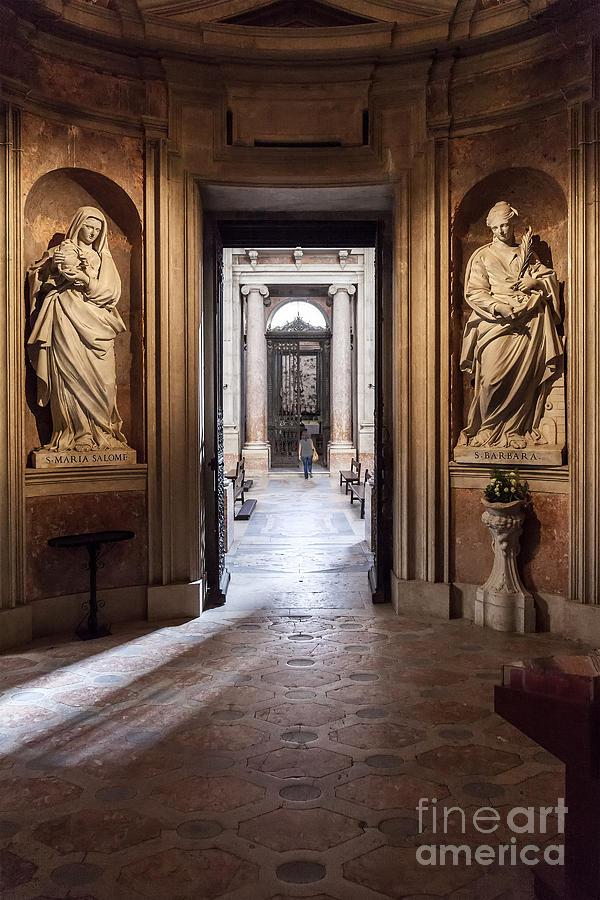 Baroque Chapel Photograph