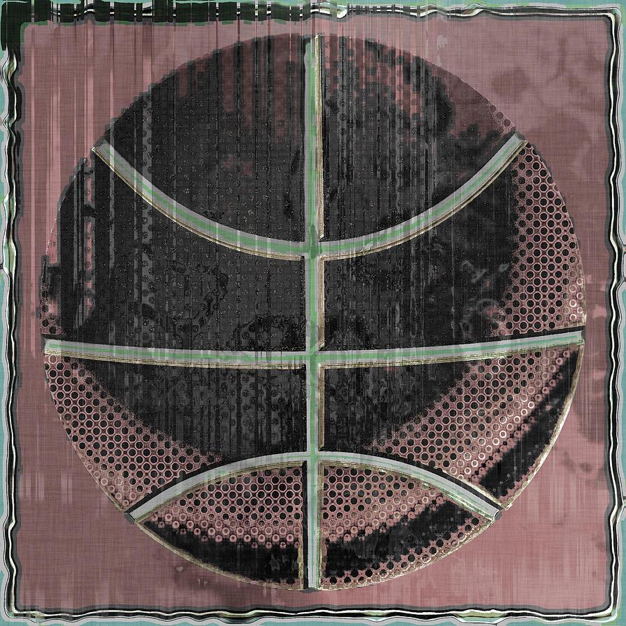Basketball Abstract Digital Art