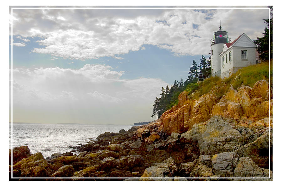 Bass Harbor Head Lighthouse Photograph