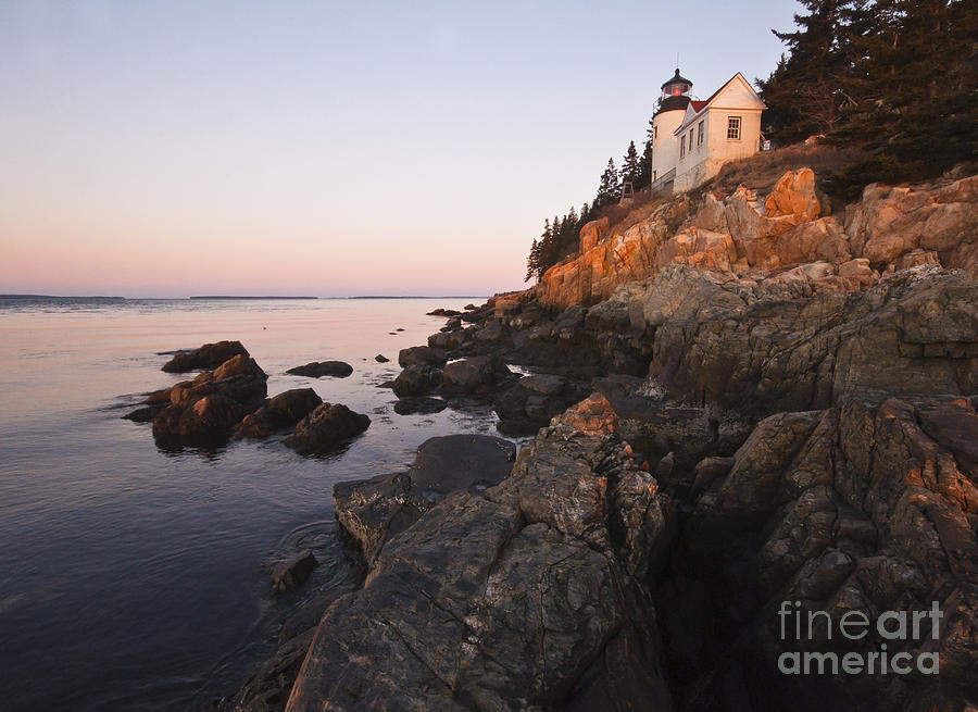 Bass Harbor Lighthouse Acadia National Park Photograph