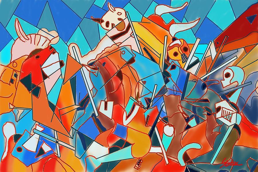 Battle Painting