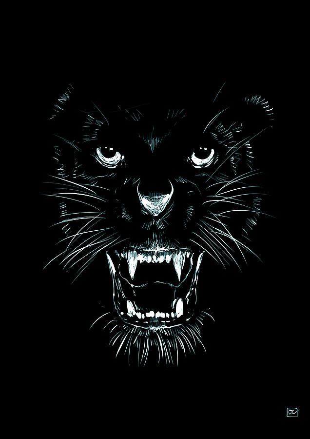 Beast Drawing - Beast by Giuseppe Cristiano