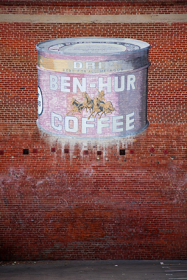 Ben Hur Coffee Photograph  - Ben Hur Coffee Fine Art Print