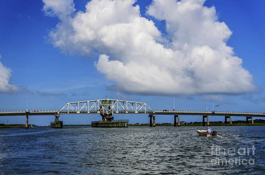 Ben Sawyer Bridge Photograph
