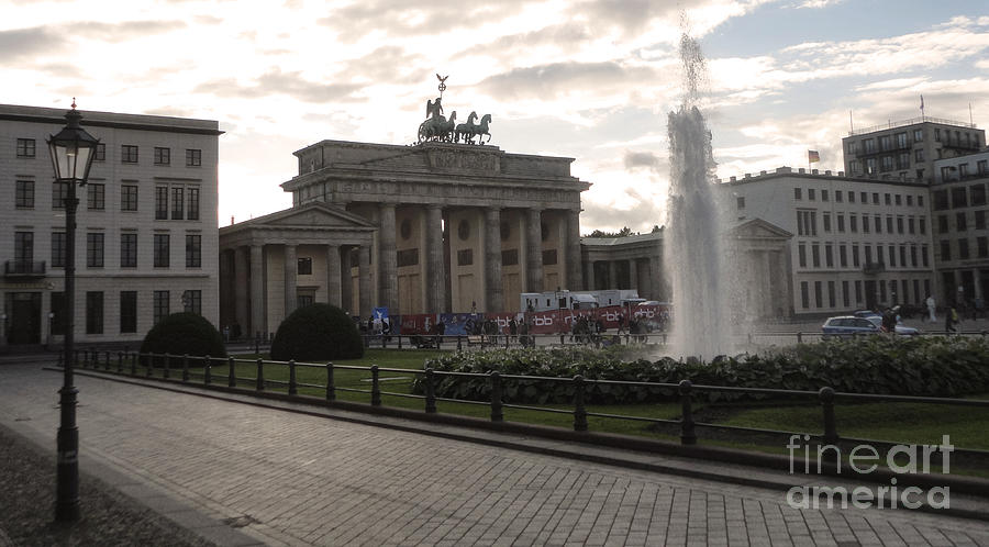 Berlin - Brandenburg Gate Photograph