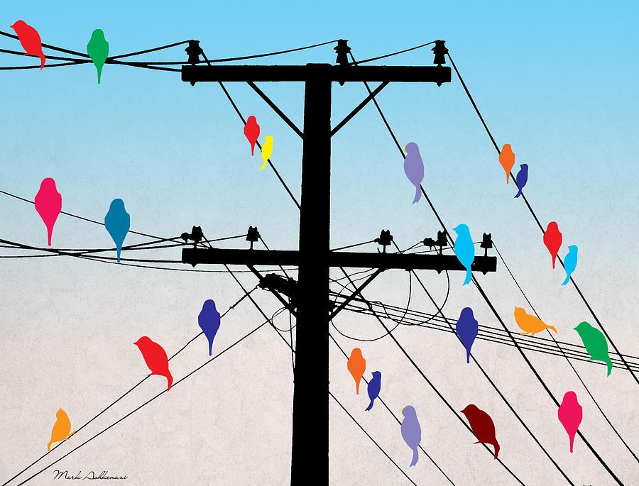 Birds  Digital Art