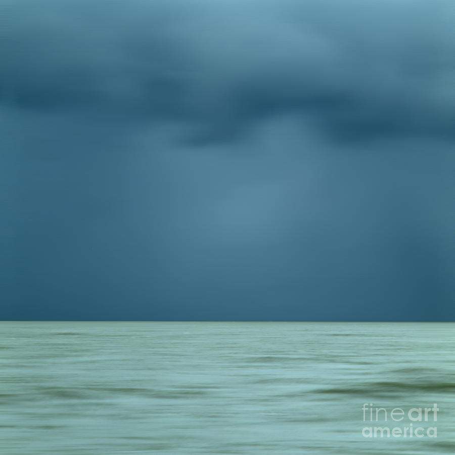 Blue Sea Photograph