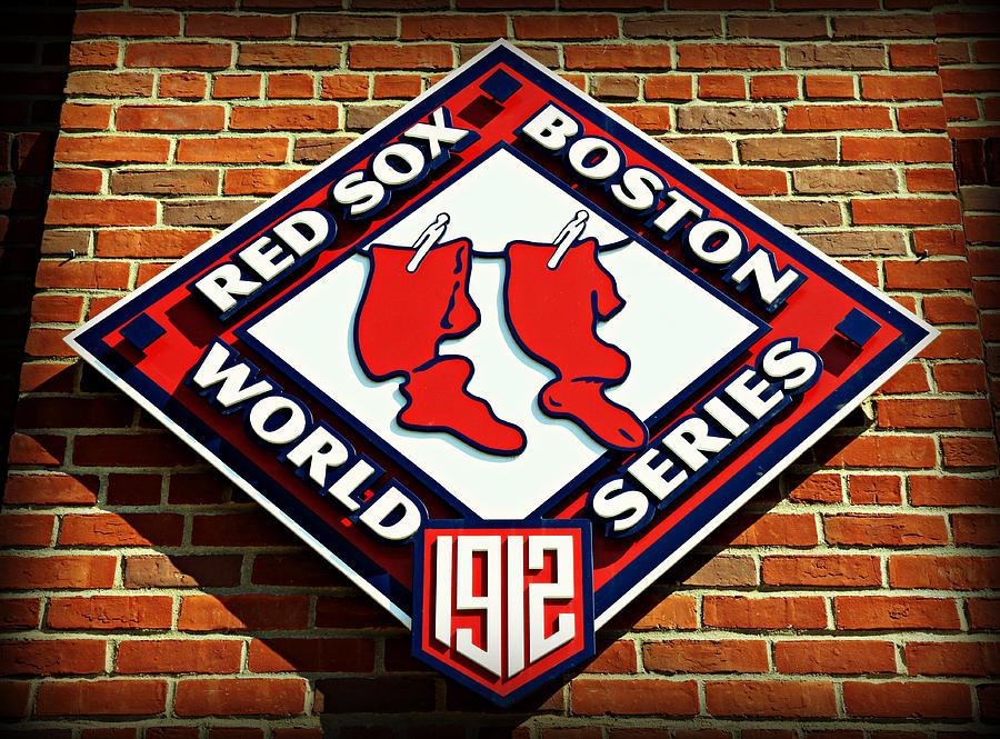 Boston Red Sox 1912 World Champions Photograph