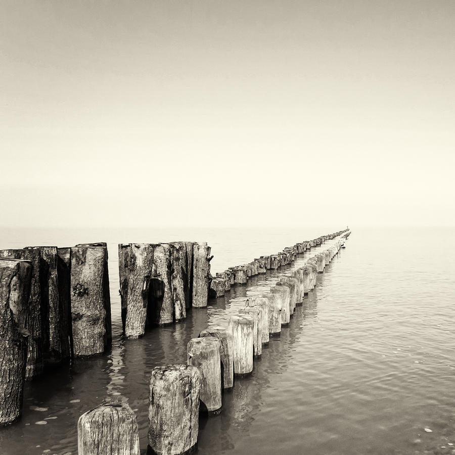 Breakwaters Photograph  - Breakwaters Fine Art Print
