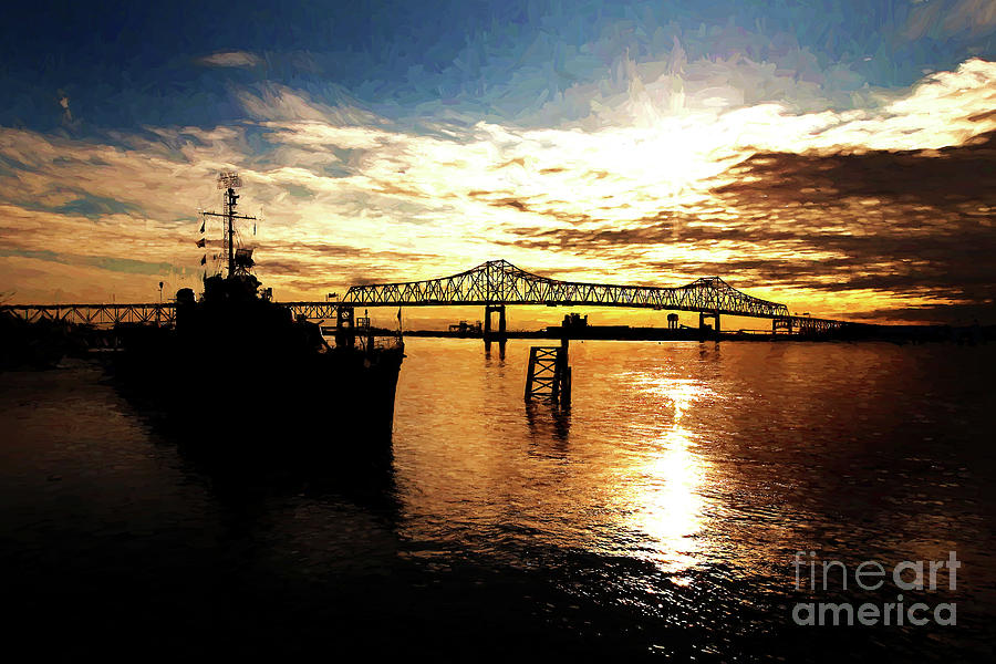 Bright Time On The River Photograph  - Bright Time On The River Fine Art Print