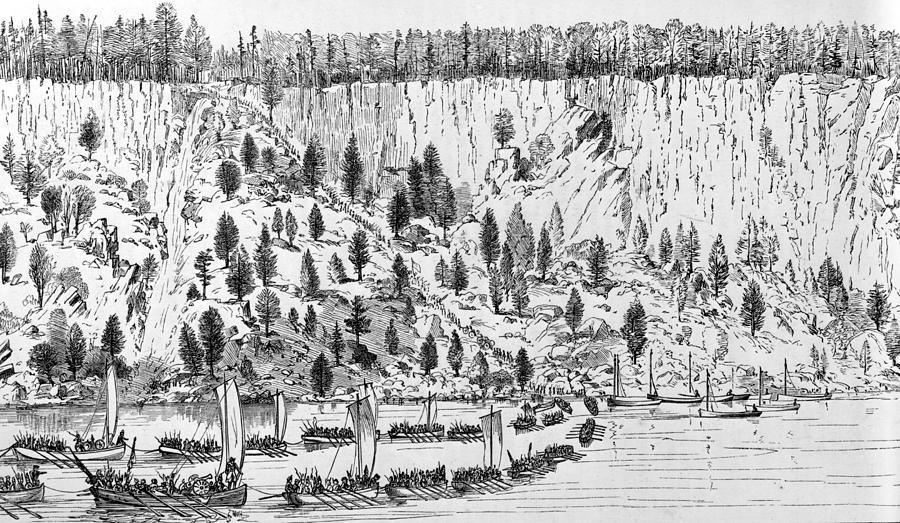 British Landing, 1776 Photograph