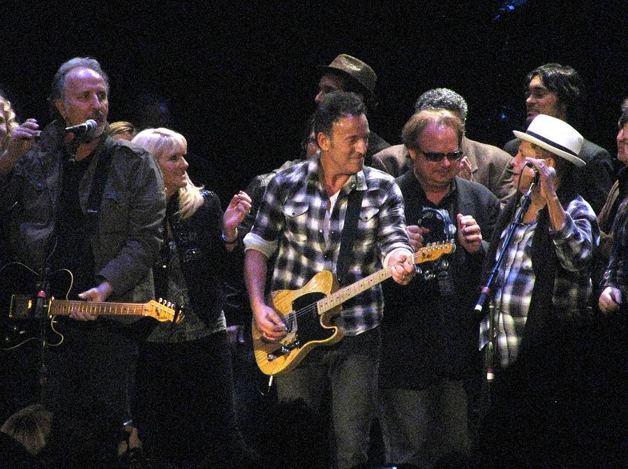 Bruce Springsteen Photograph - Bruce Springsteen by Melinda Saminski