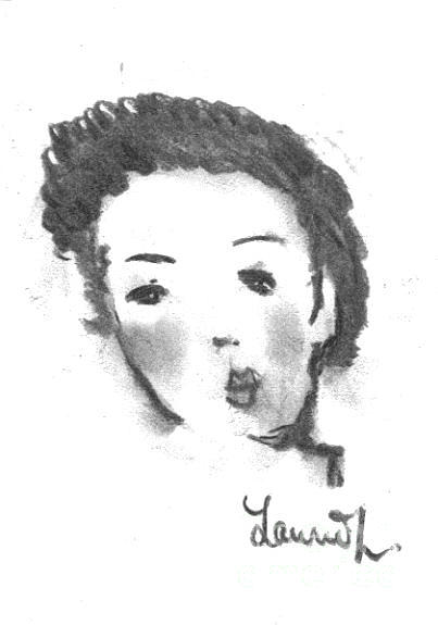 Bubble Gum Drawing
