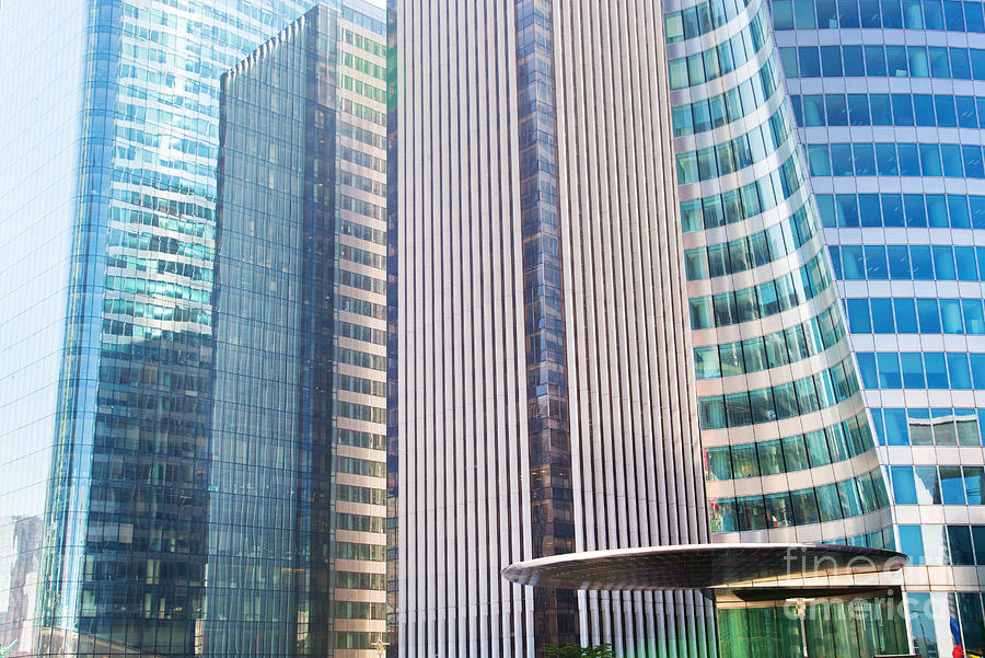 Business Skyscrapers Modern Architecture Photograph