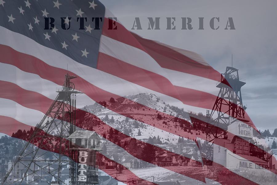 Butte America Photograph