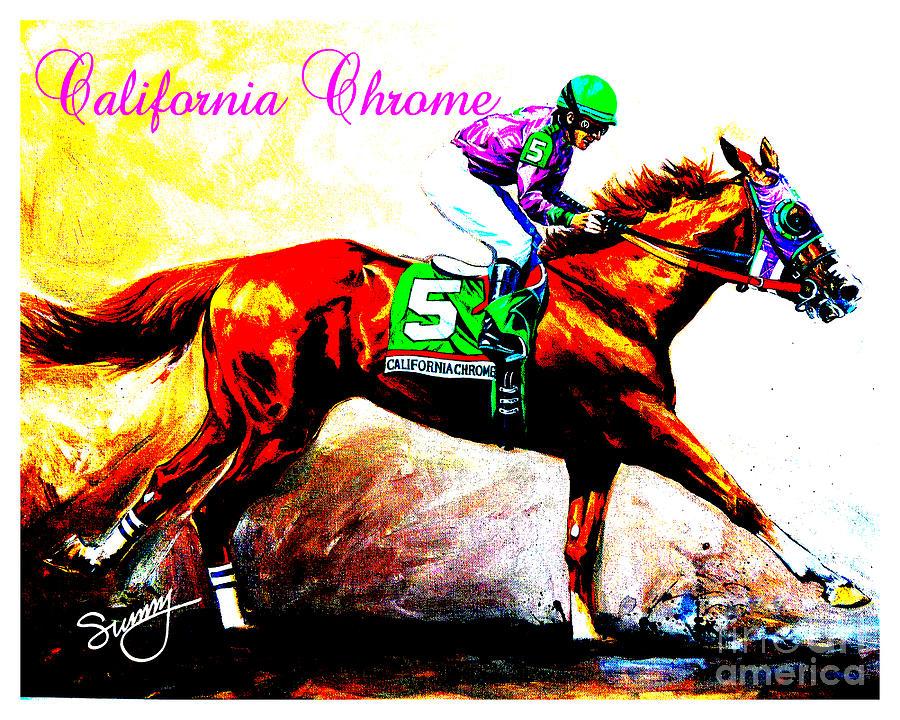 California Chrome Painting