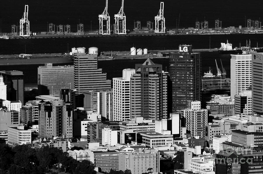 Cape Town Skyline - South Africa Photograph  - Cape Town Skyline - South Africa Fine Art Print