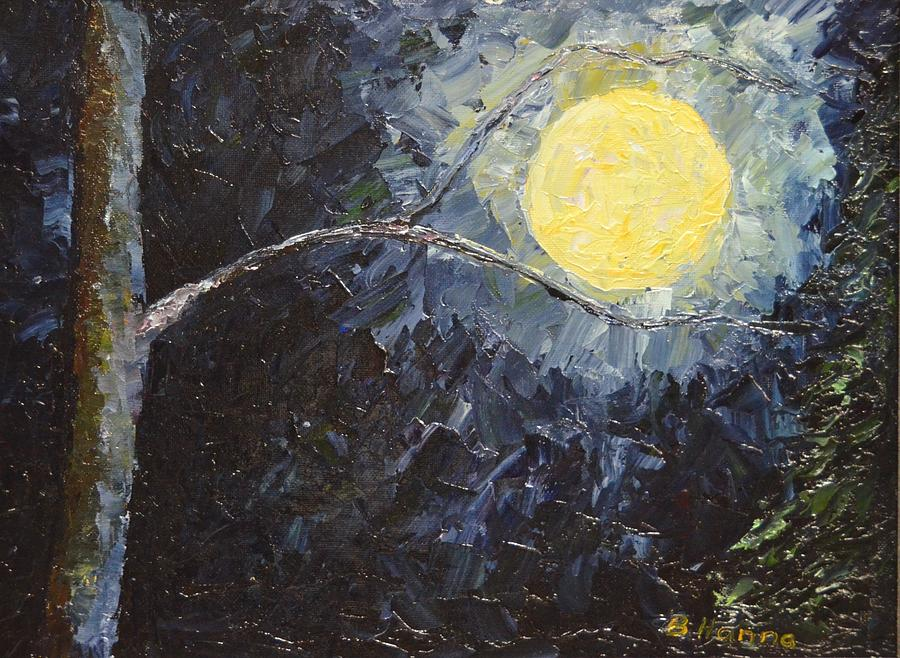 Catching The Moon Painting