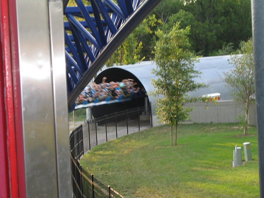 Cedar Point - Millennium Force - 12122 Photograph