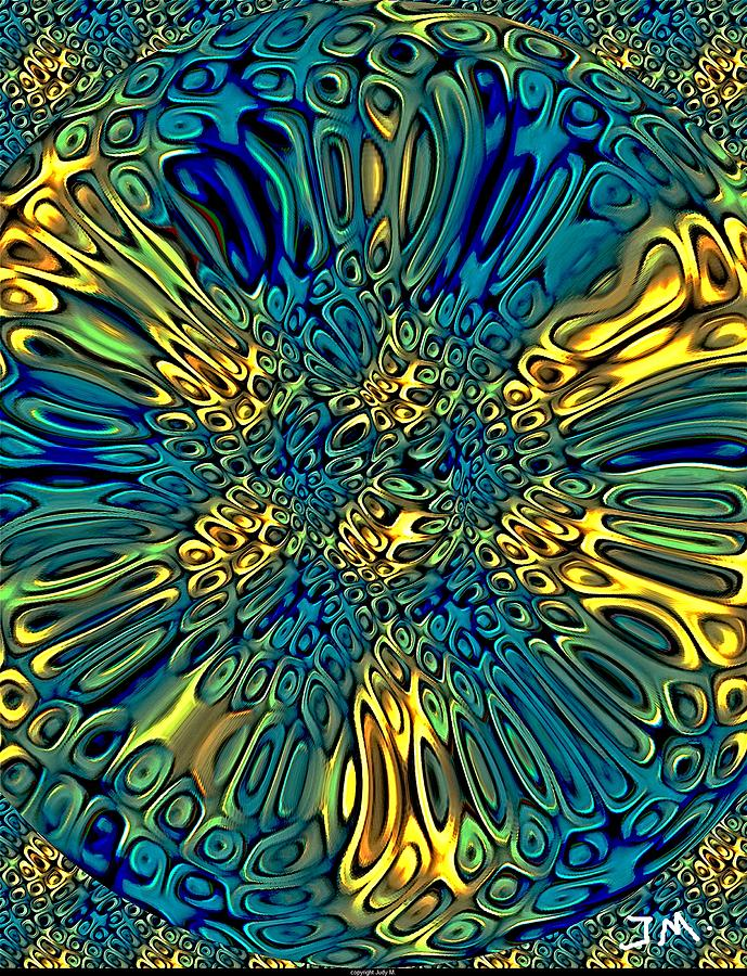 Cells Digital Art  - Cells Fine Art Print