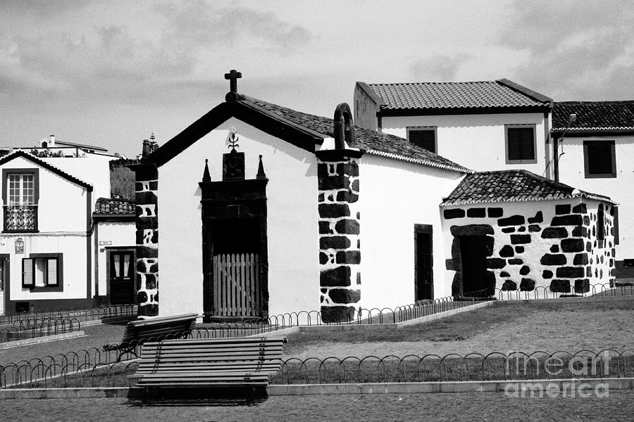 Chapel In Azores Islands Photograph