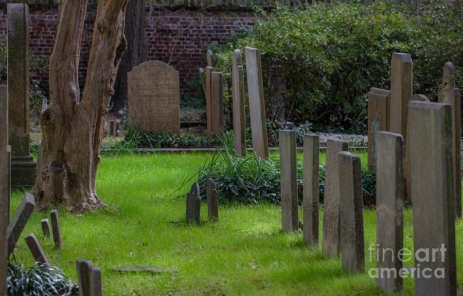 Charleston Graveyard Photograph