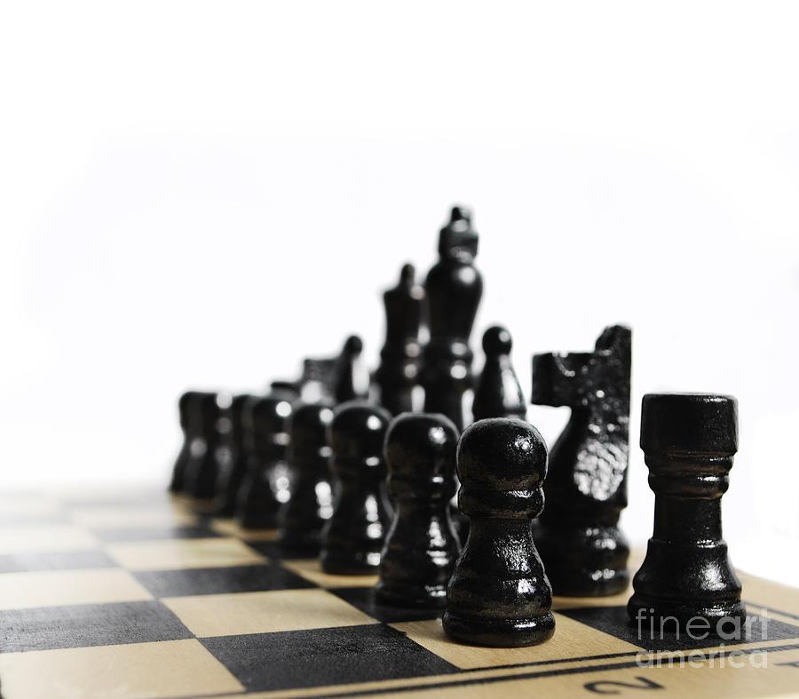 Chess Pyrography