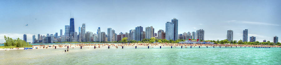 Chicago North Avenue Beach Photograph