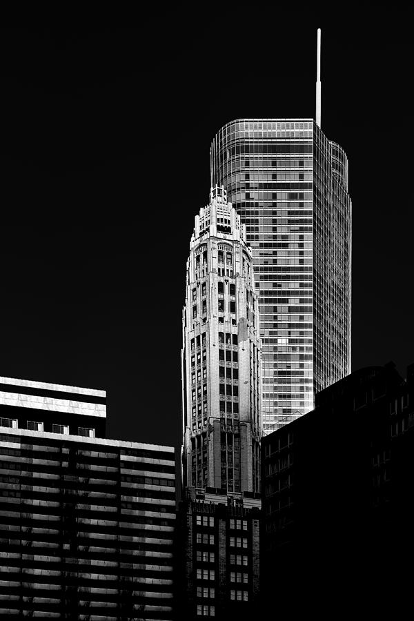 Chicago - Trump International Hotel And Tower Photograph  - Chicago - Trump International Hotel And Tower Fine Art Print