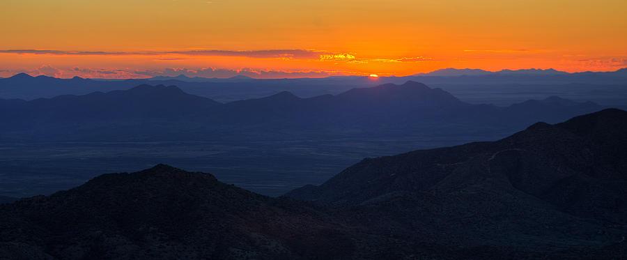 Chiricahua Mountain First Light Photograph