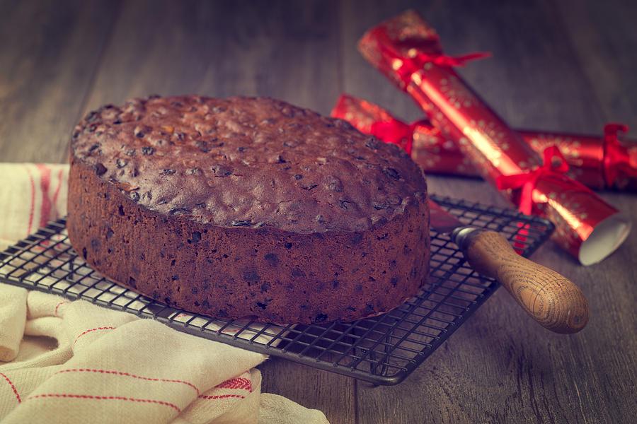 Christmas Cake Photograph