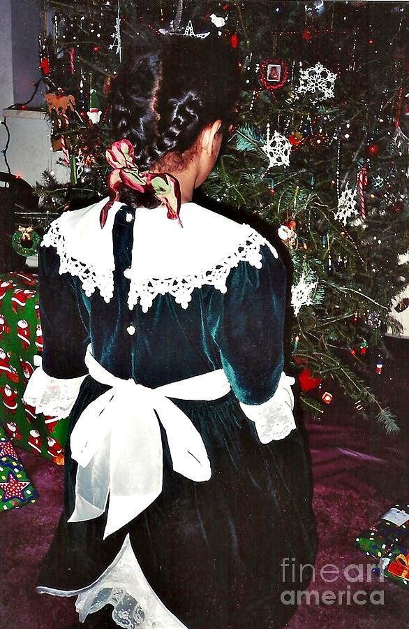 Christmas Dress Photograph