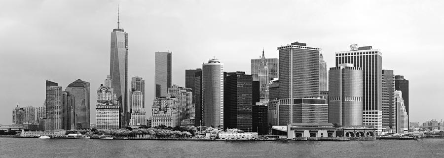 City - Ny - The Financial District Photograph
