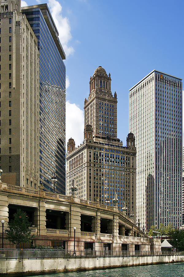 Classic Chicago -  The Jewelers Building Photograph