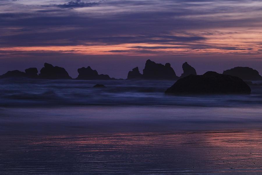 Beach Photograph - Coastal Reflections by Andrew Soundarajan