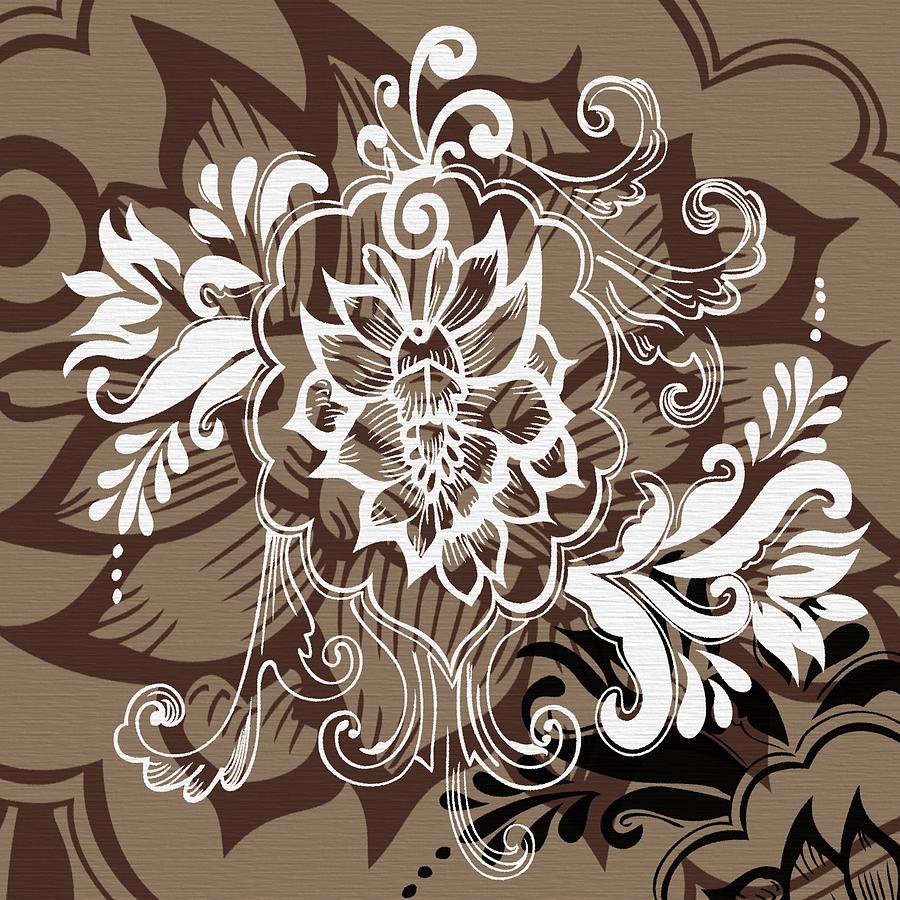 Coffee Flowers 10 Digital Art