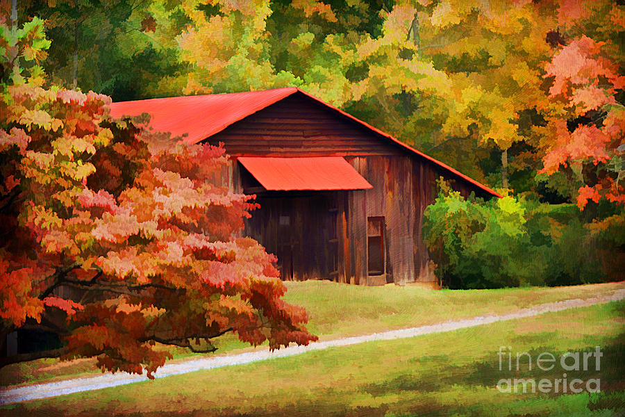 Country Charm Photograph  - Country Charm Fine Art Print