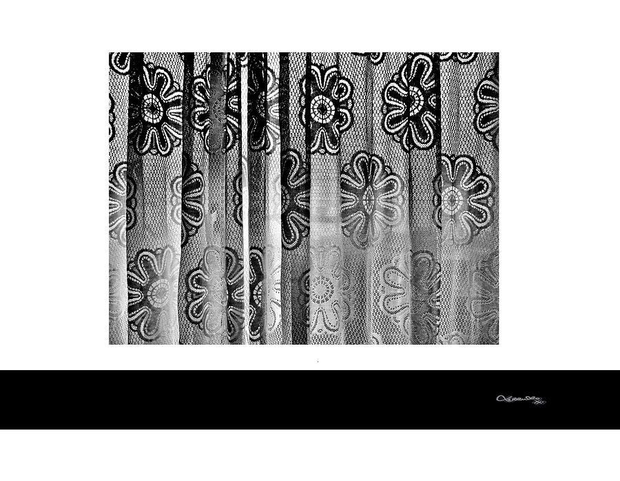 Curtained Window Digital Art