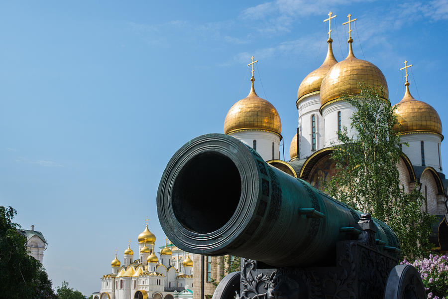 Czar Cannon Of Moscow Kremlin - Featured 2 Photograph