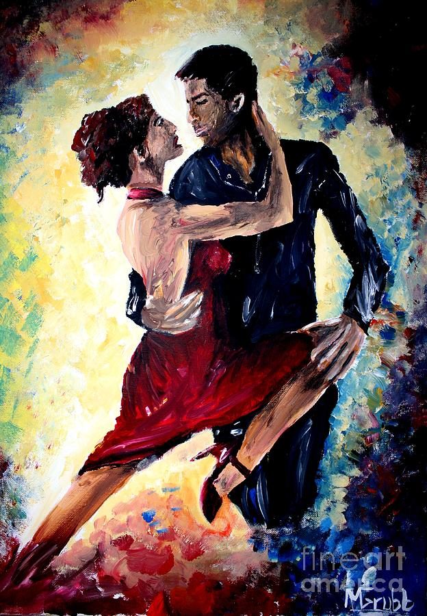 Dancing In The Moonlight Painting - Dancing In The Moonlight by Michael Grubb