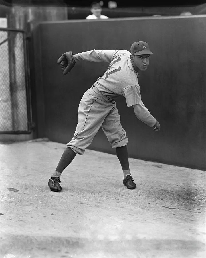 Baseball Photograph - David M. Dave Smith by Retro Images Archive