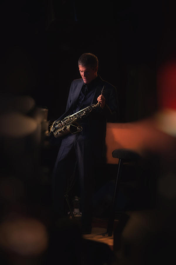 David Sanborn Photograph  - David Sanborn Fine Art Print